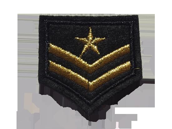 naszywki na mundur